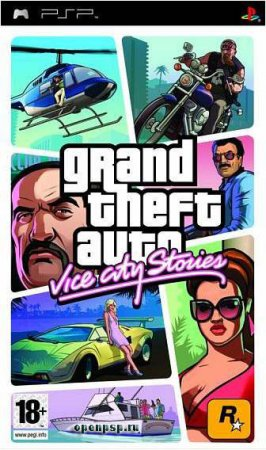 gta vice city stories / PSP / Rus / 2006